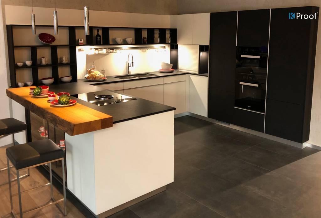 top cucina in pietra Ipanema Black Kproof
